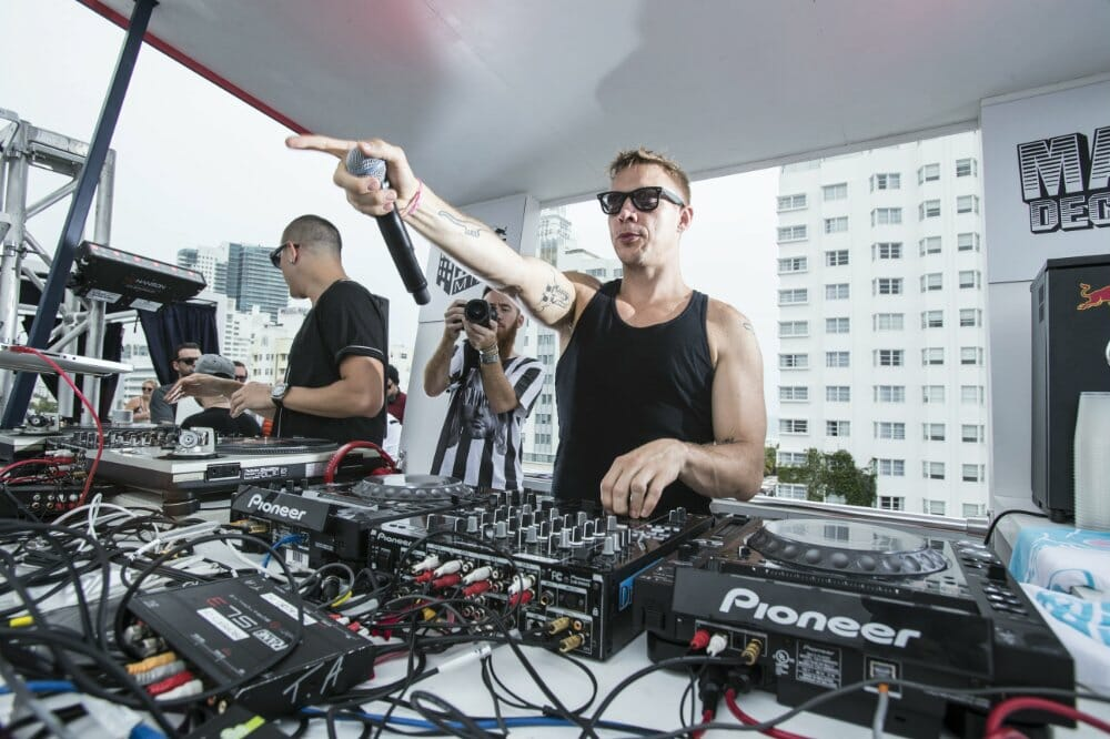 The police politely told Diplo to turn his music down and he wasn't having itDiplo RBGH