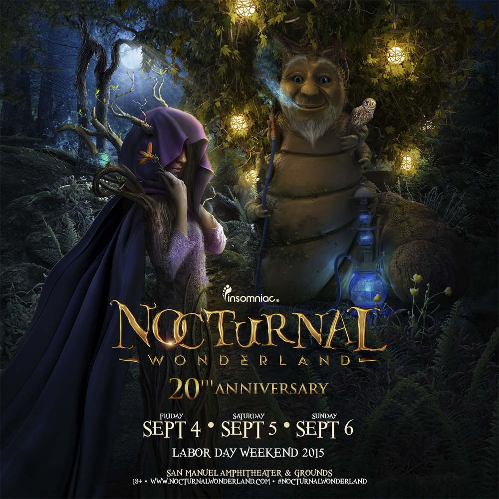 Nocturnal Wonderland announces 20th anniversary datesNocturnal Wonderland 20th Anniversary