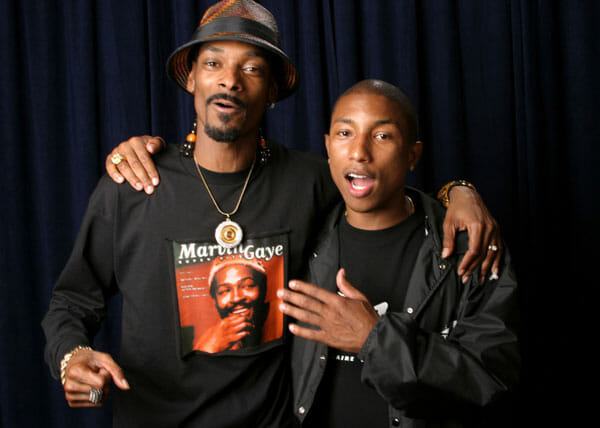 Snoop Dogg and Pharrell crafting a disco-inspired albumPharrell Snoop