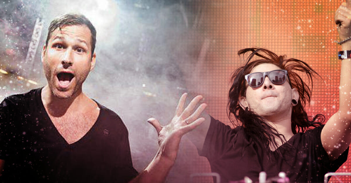 Kaskade reveals he might've played a part in Skrillex's decision to begin DJingSkrille Kaskade
