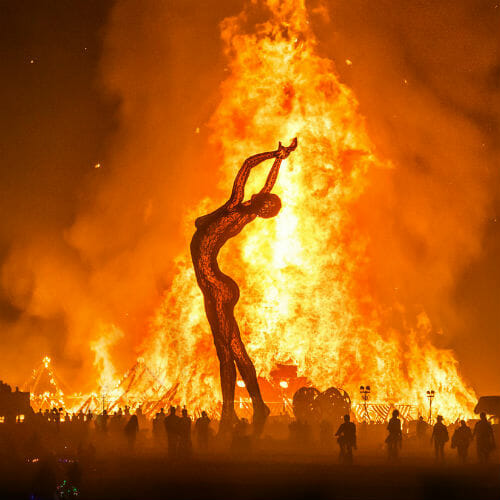 Travel agencies are trying to put out the Burning ManBurning Man 1