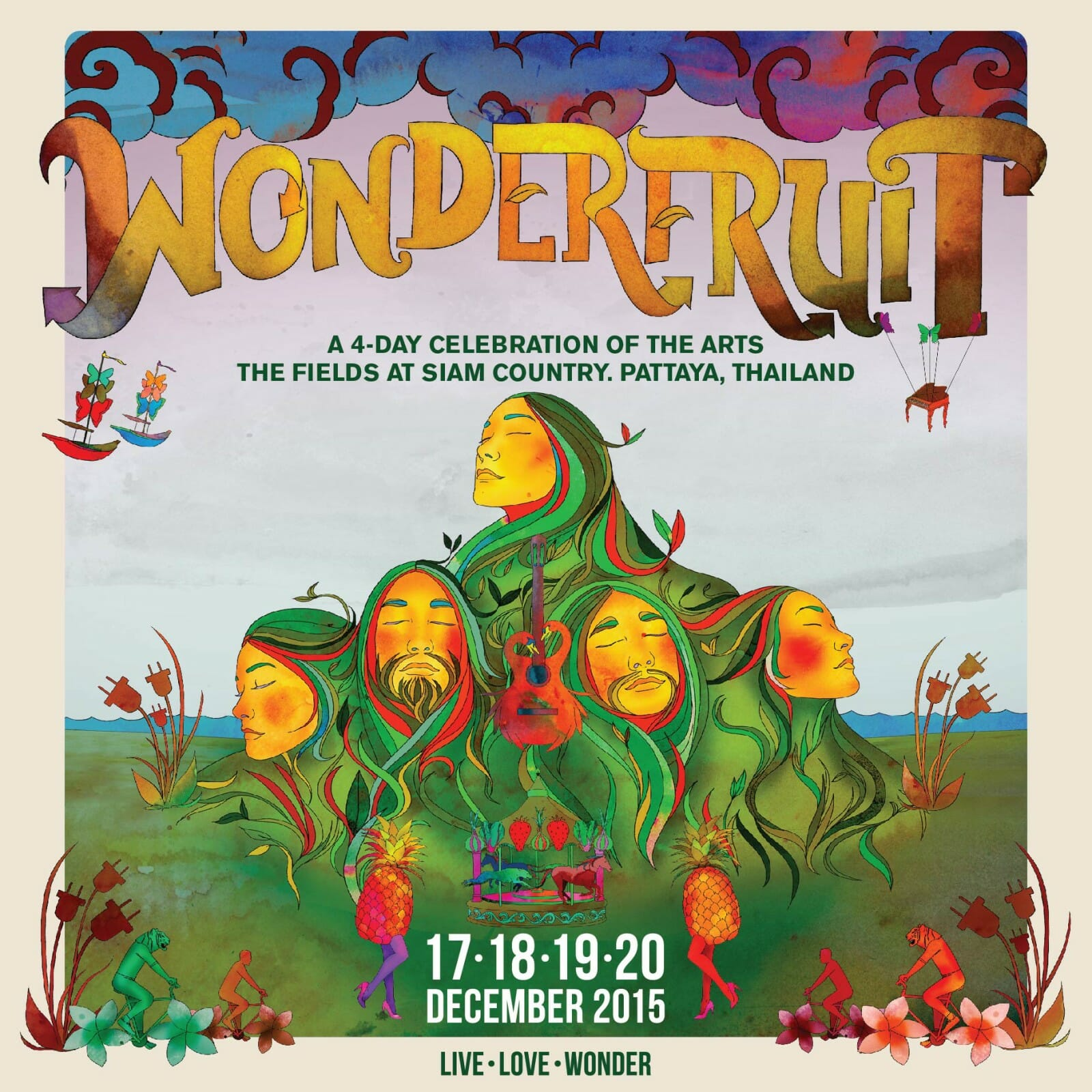 Jon Hopkins and Chris Levine to premiere the iy_project at Thailand's Wonderfruit FestivalWF POSTER IG 01
