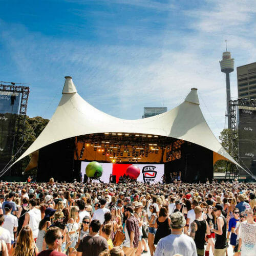 Australian premier Mike Baird is calling for a total crackdown on festivalsField Day Festival Anna Warr