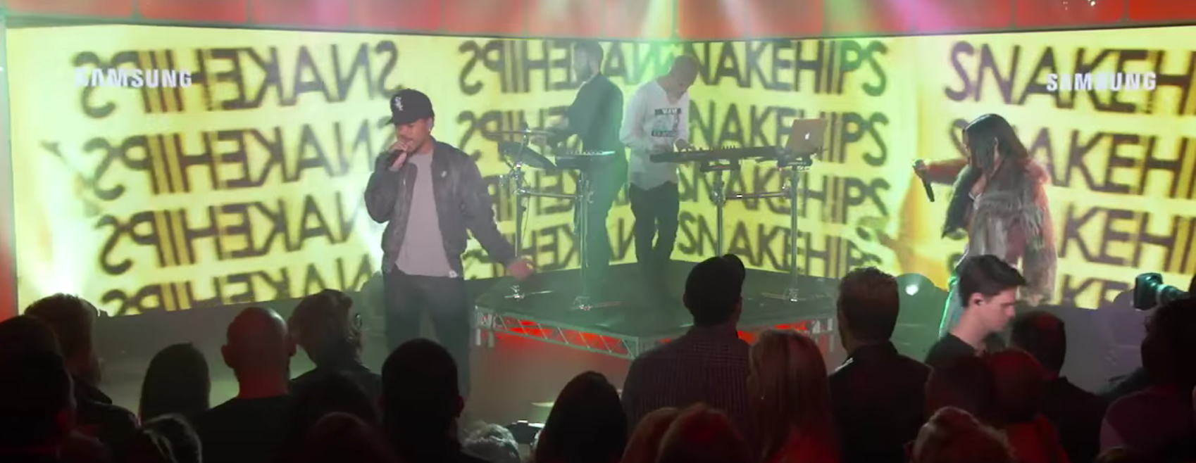 Watch This: Snakehips performs on Jimmy Kimmel with Tinashe and Chance The RapperSnakehips Kimmel
