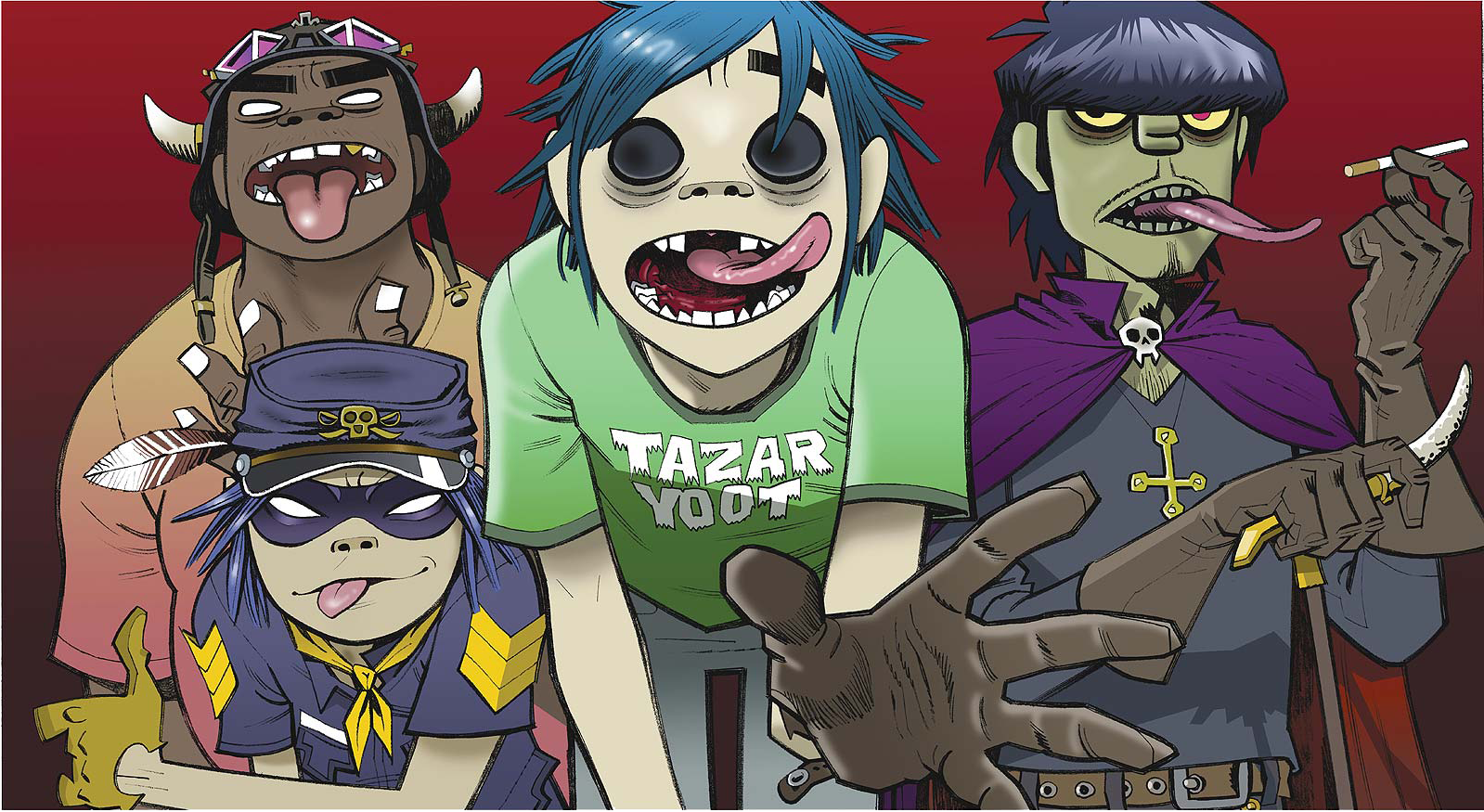 Gorillaz launch Instagram account and new websiteGorillaz
