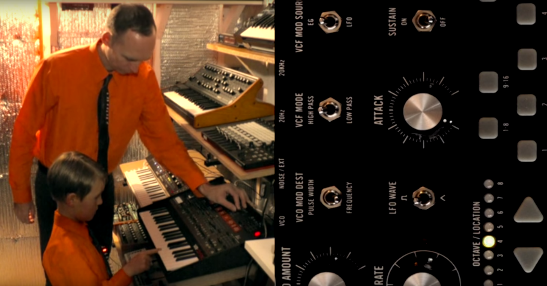 Watch This: Father and son collaborate on classic Kraftwerk coverKraftwerk Father Son Collab