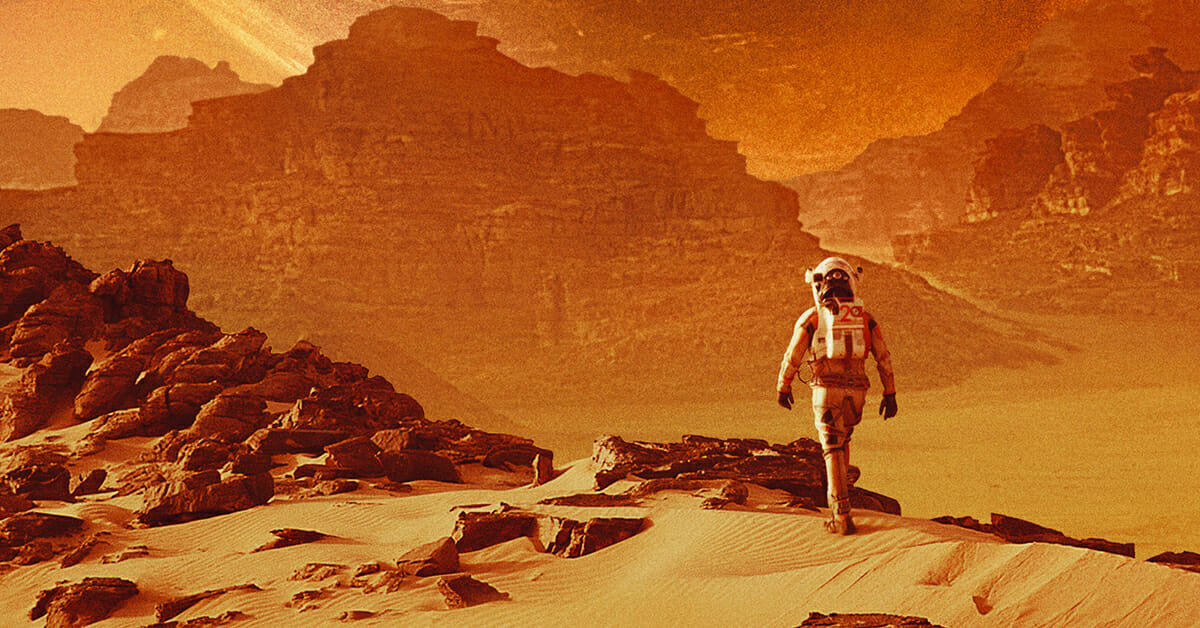 Ever wanted to rave on a spaceship to Mars? Now you canMars