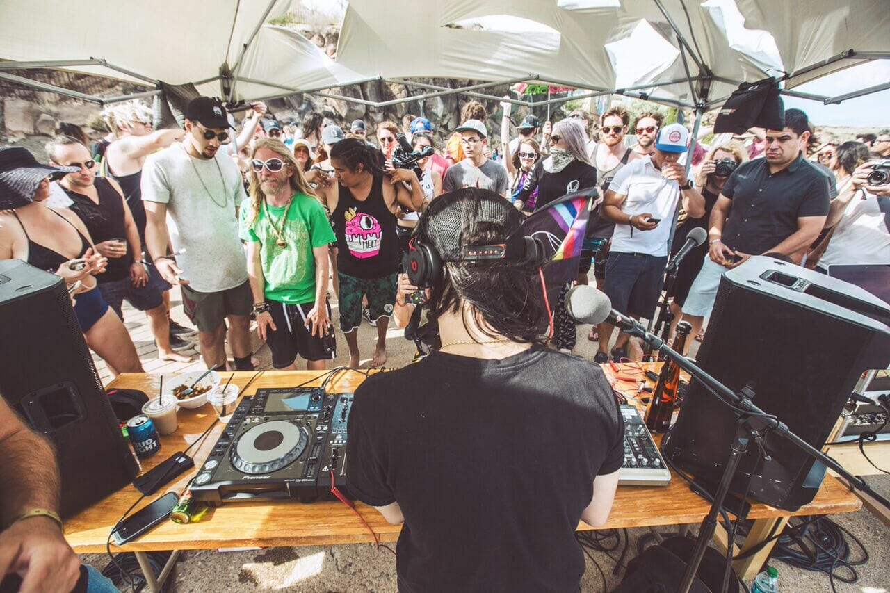 FORM Arcosanti announces full artist schedule featuring Skrillex, James Blake and moreSkrille Owlsa Radio Pool Party Form