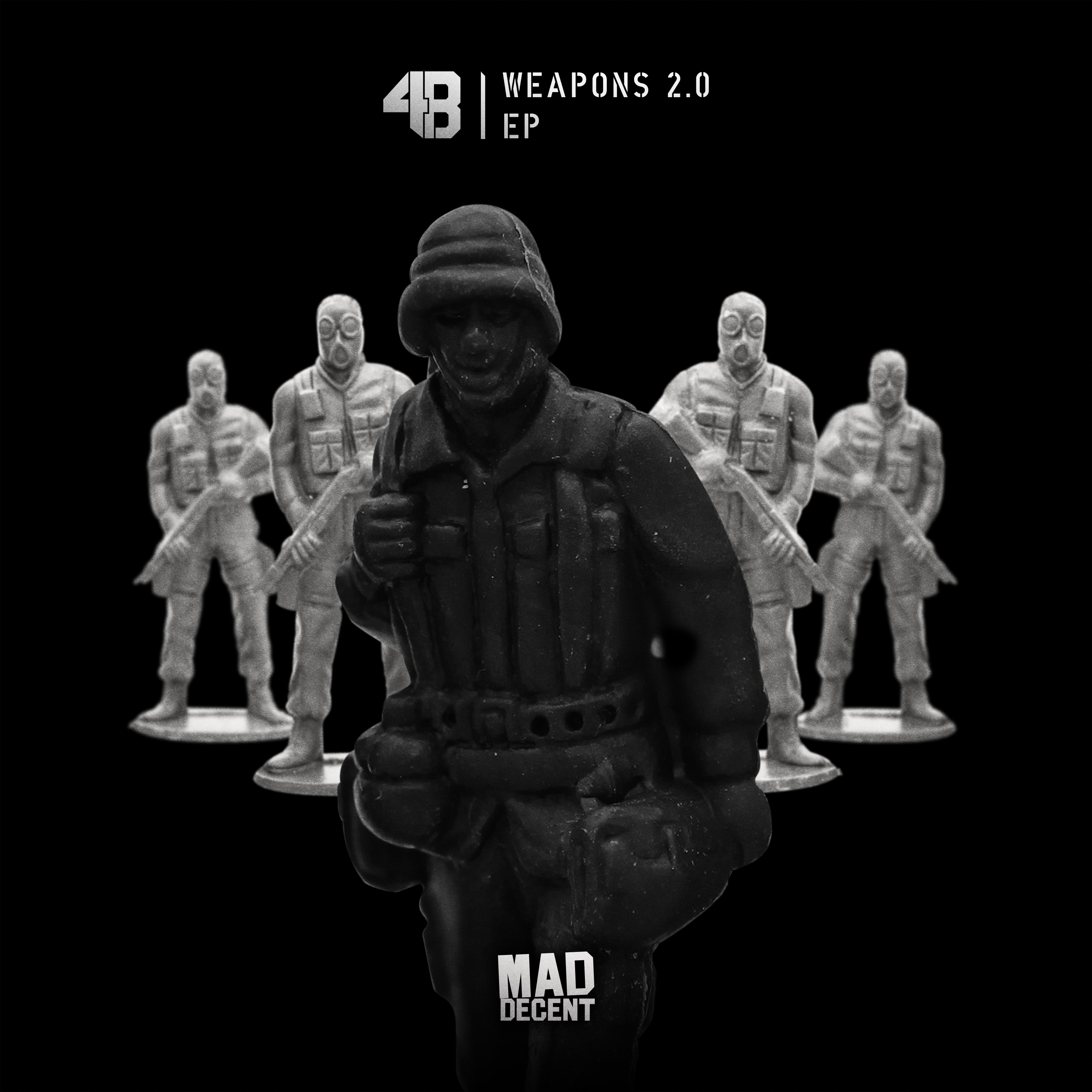 4B releases new 'Weapons 2.0' EP on Mad Decent4B WeaponsEP Cover