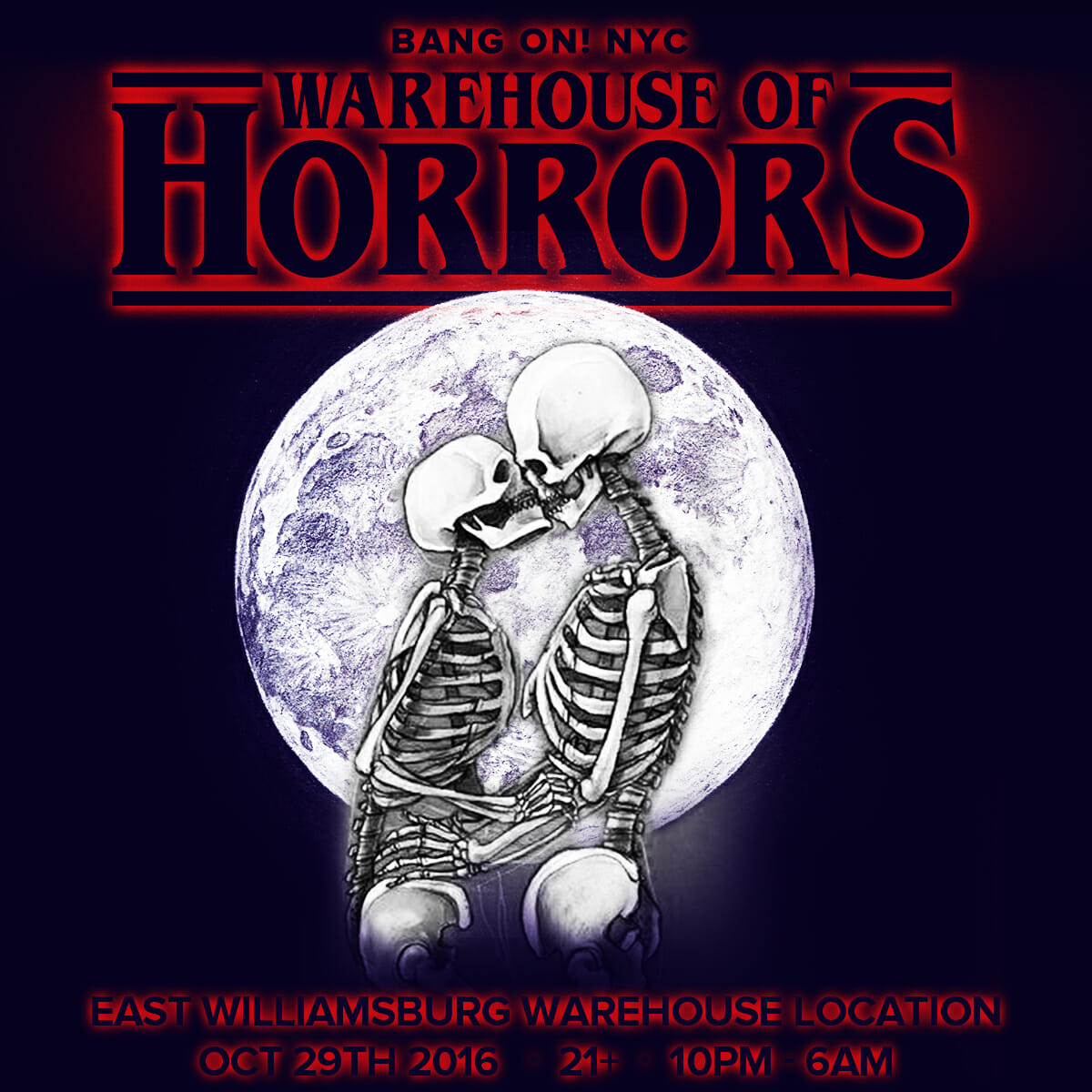 BangOn! NYC announces new Halloween event: Warehouse of HorrorsWarehouse Of Horrors