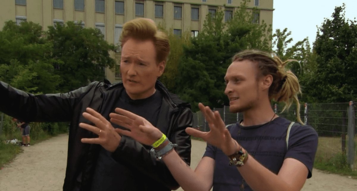 Watch Conan O'Brien get rejected from BerghainScreen Shot 2016 12 08 At 11.11.06