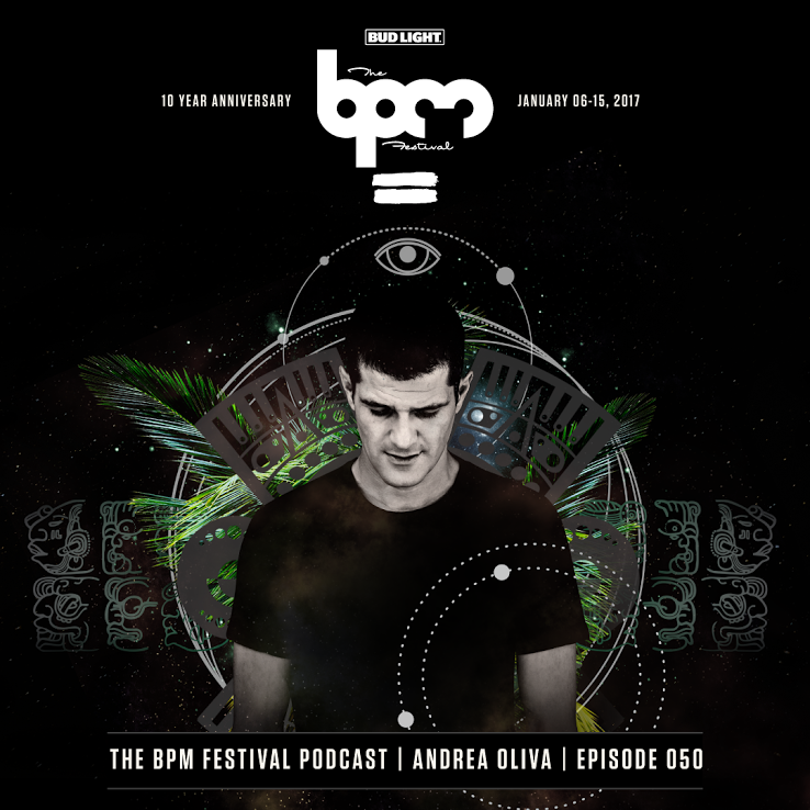 Listen to Andrea Oliva's exclusive mix for The BPM FestivalAndrea Oliva Artwork