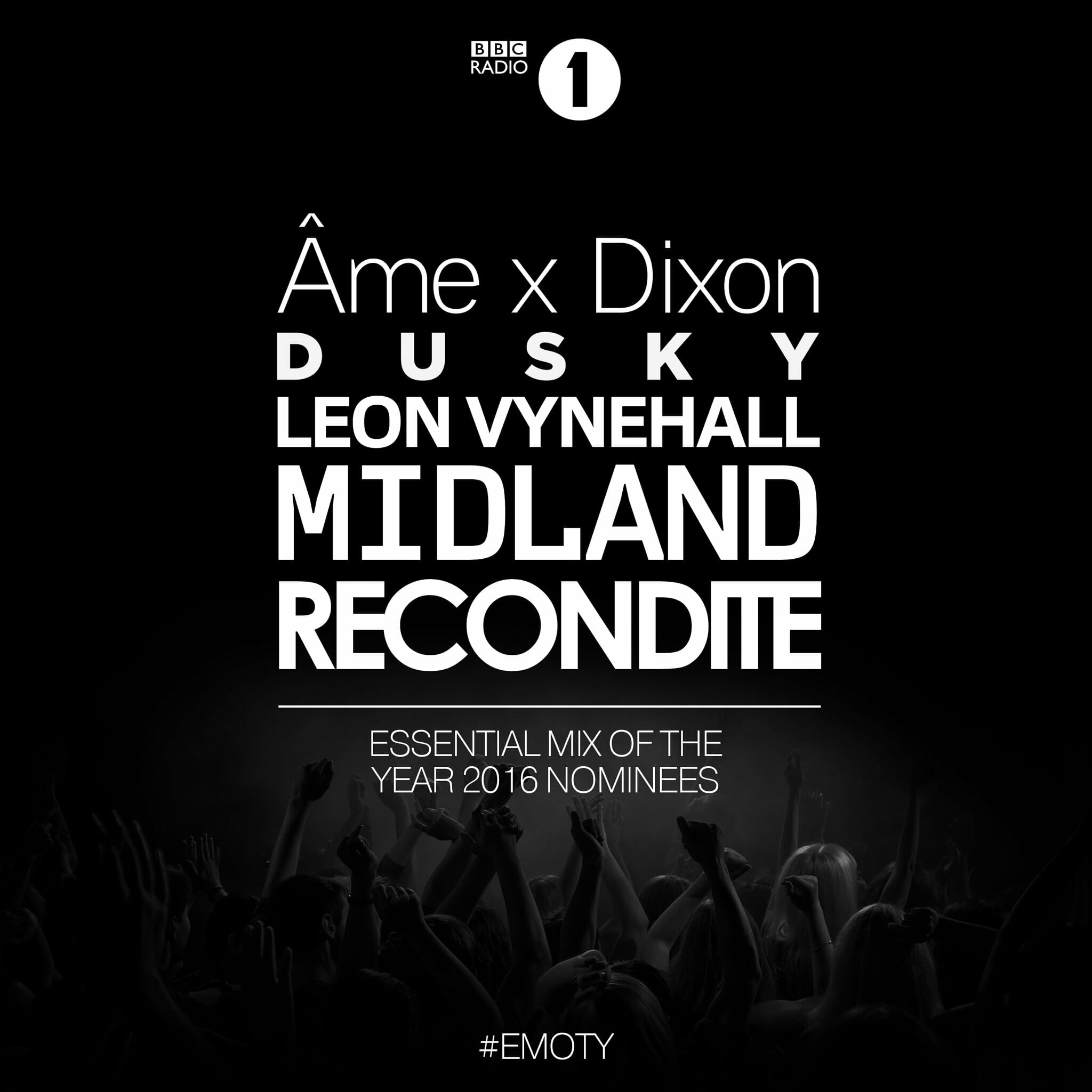 Listen to BBC Radio 1's nominations for 2016's Essential Mix of the YearEssential Mi Of The Year 2016 Nominees