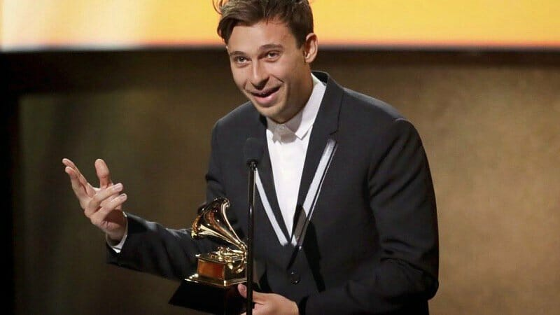Flume's reaction to winning his first GRAMMY is inspirational and absolutely perfectFlumeGrammys