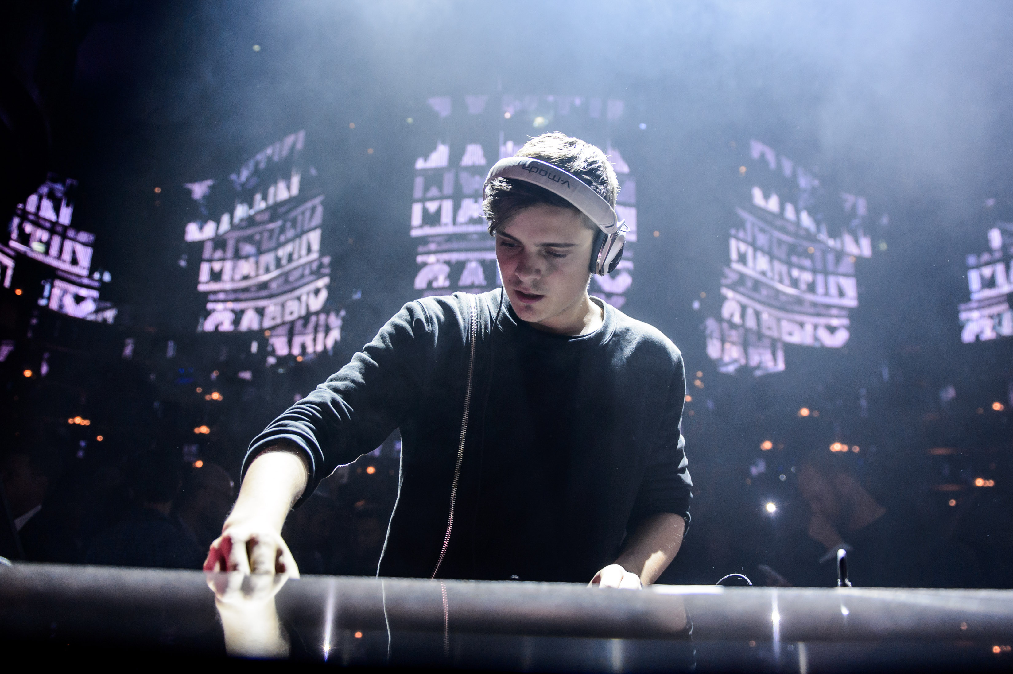 Watch as Martin Garrix and his team scramble to complete his ADE show concept in time6.27.15 Martin Garri OMNIA Photo Credit Al Powers