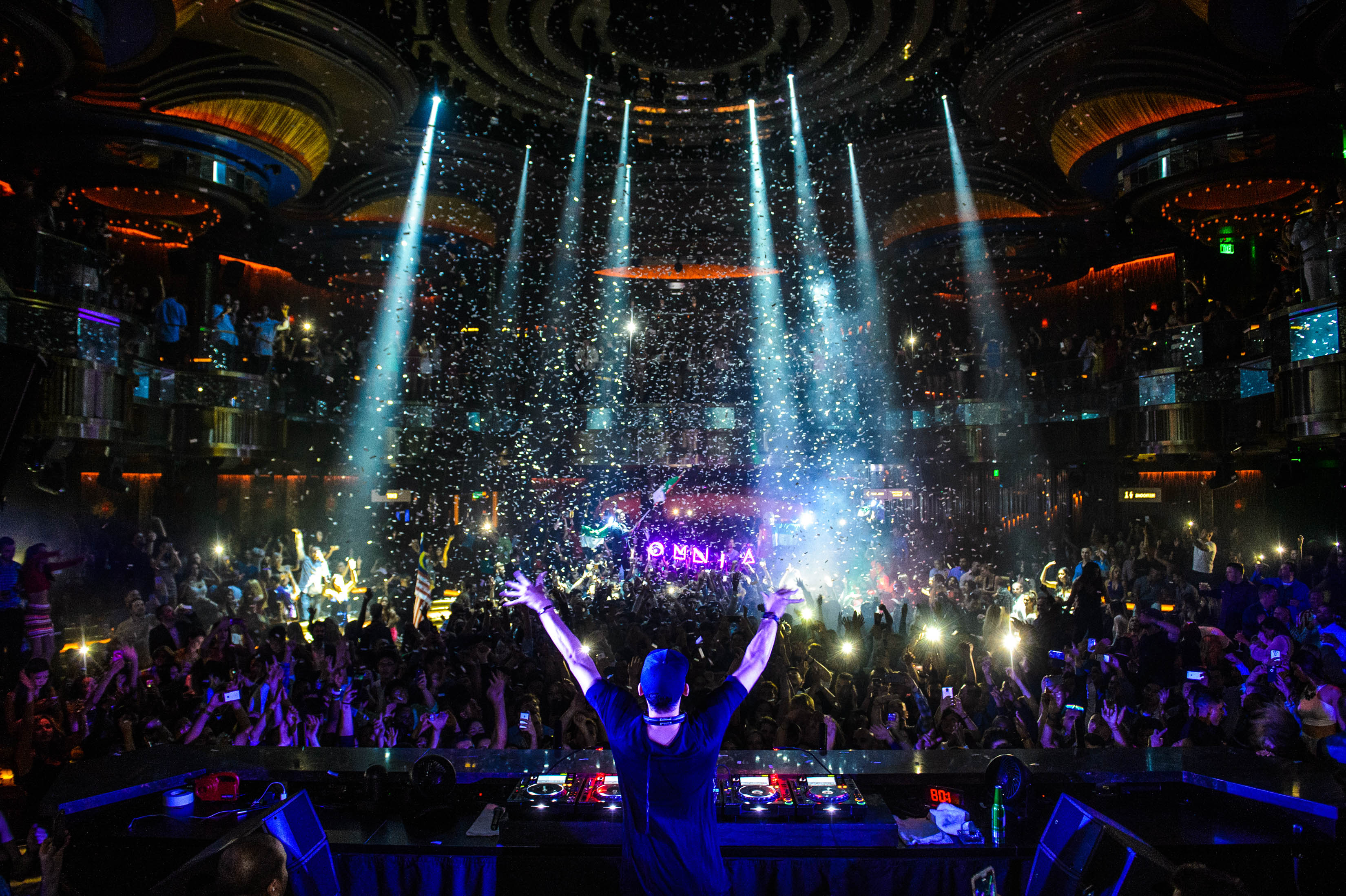How Omnia tapped into the unexpected on the Las Vegas StripAfrojack OMNIA Photo Credit Al Powers 2