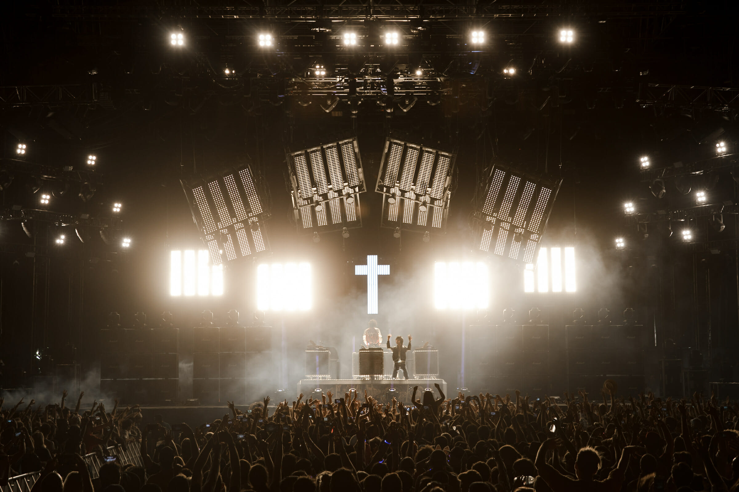 Weekend Rewind: Justice's legendary 'Cross' turns 10 years oldJustice Julian Bajsel Coachella C015526