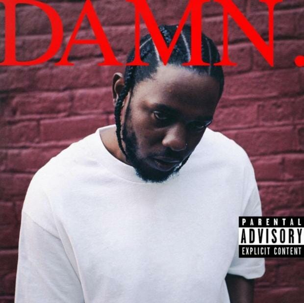 Kendrick Lamar shares cover art and track list for new album, 'DAMN.'Kendrick Lamar DAMN Cover Art