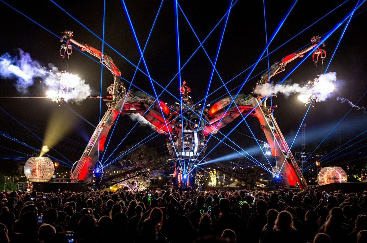 Glastonbury responds to zero-hours contract controversyArcadia Spider Glastonbury Charlie Raven