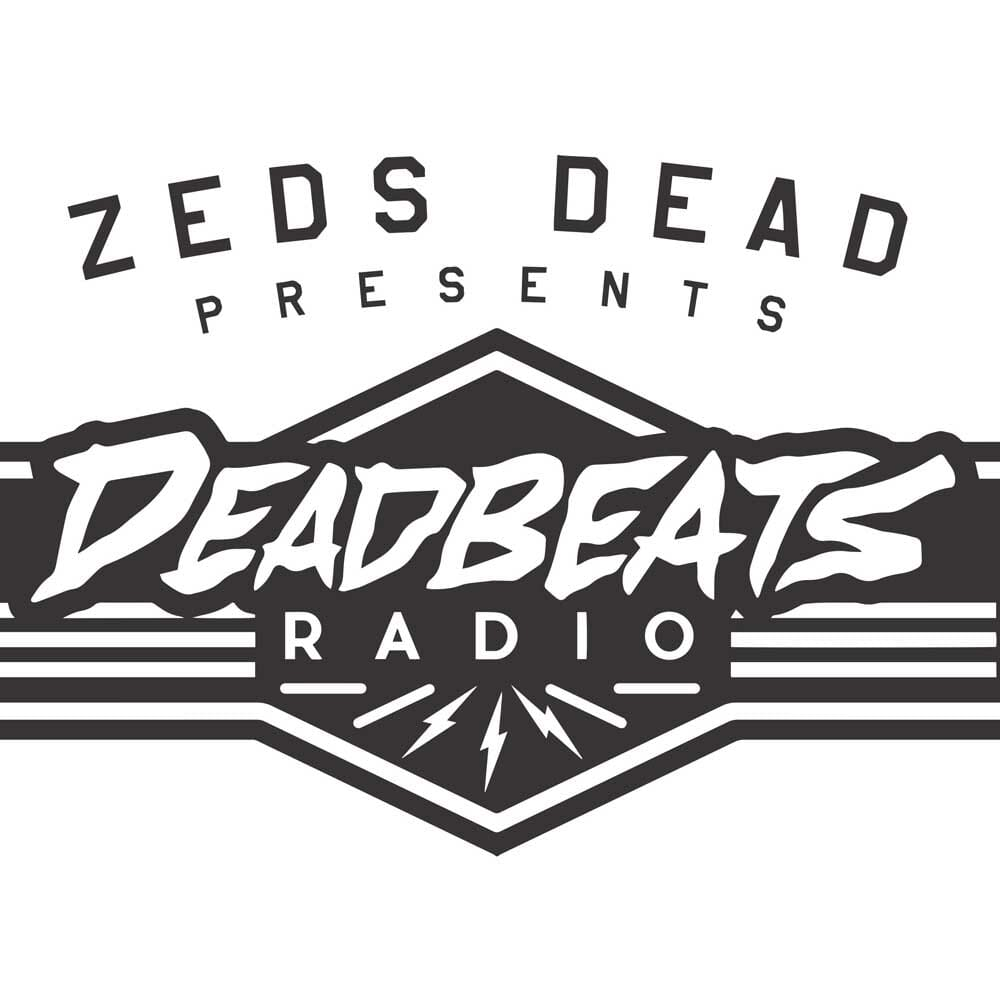 Zeds Dead drops fourth episode of Deadbeats Radio on Sirius XMDeadbeats Radio Artwork