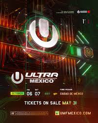Ultra Mexico announces its inaugural phase one lineupUltra Meico