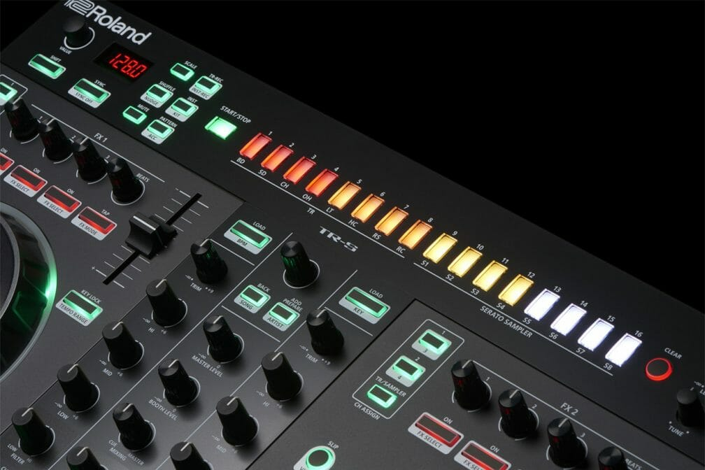 Roland teams up with Serato again for two new hybrid DJ ControllersDj 505 Parts 5 Gal