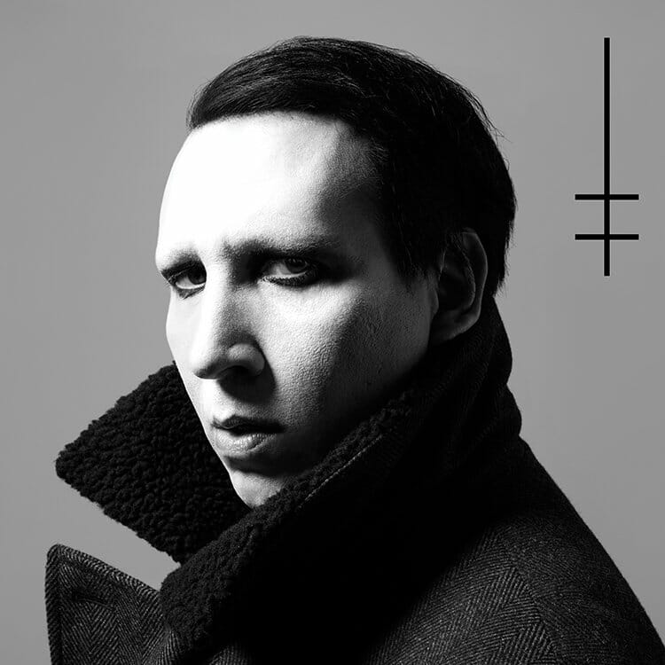 "Marilyn Manson offers reverb heavy synth track with ""KILL4ME""DJdSEUIAAzWtg"