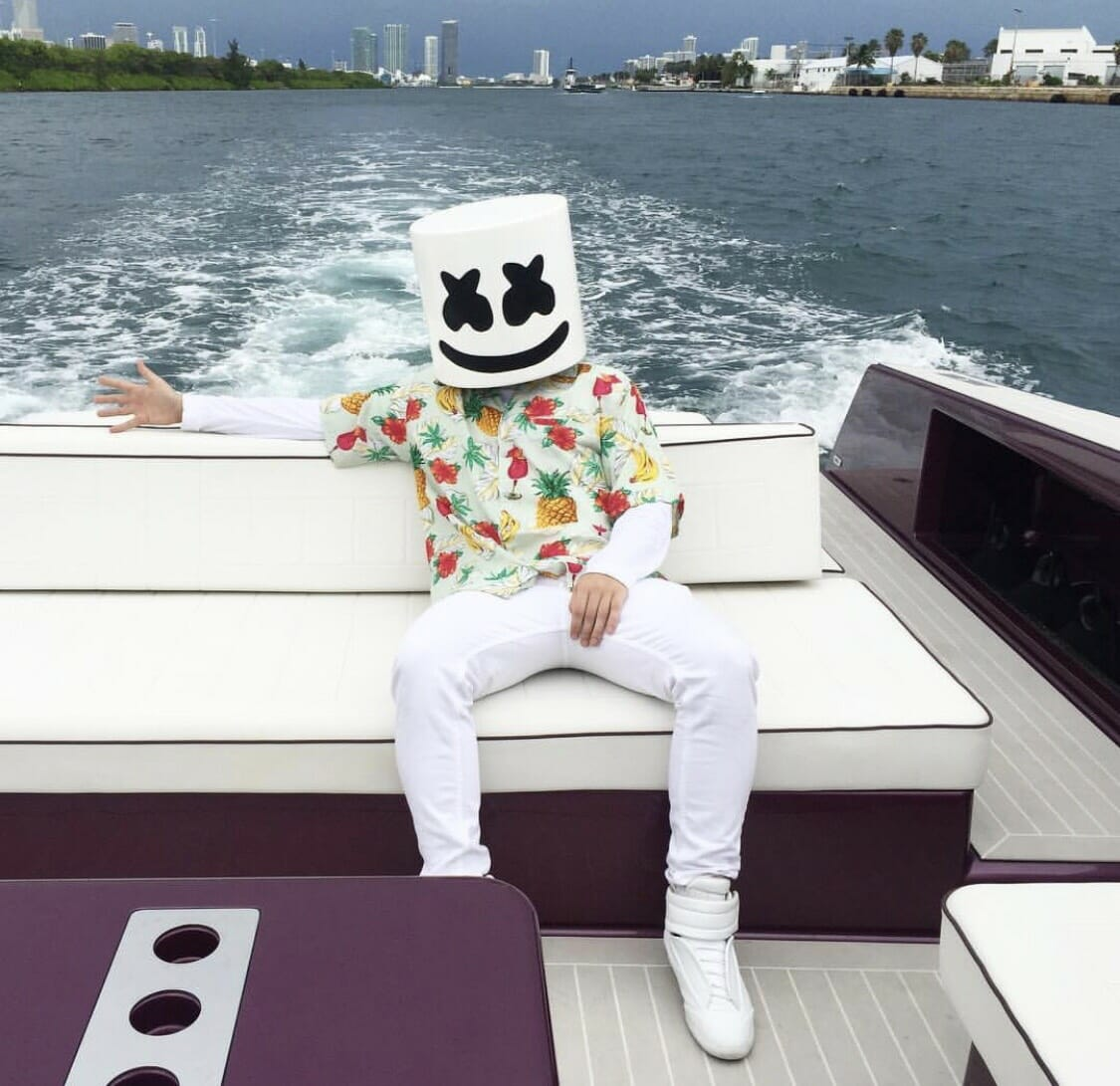 Marshmello partners with Zumiez to launch new clothing line, MarshinMarshmello Beach