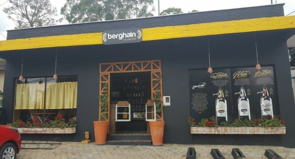 Did someone in Brazil create a bootleg Berghain?Berghain Cervejaria