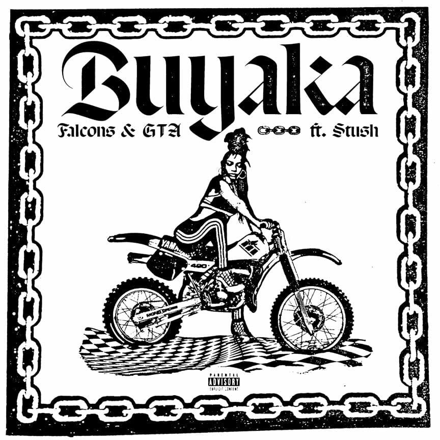 GTA and Falcons connect on trapped out new collaboration 'Buyaka'Gta Falcons Stush Buyaka Artwork Dancing Astro