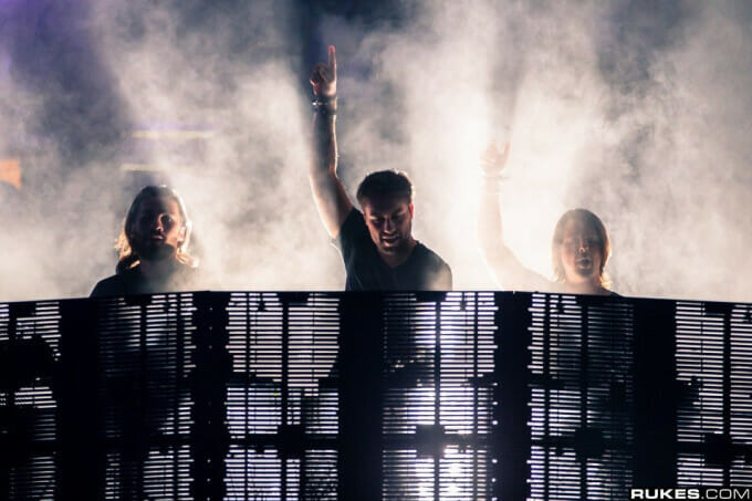 There were a minimum of two new IDs in Swedish House Mafia's Ultra setSwedish House Mafia Ultra 2013 Rukes