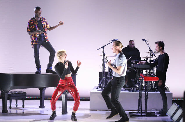 Watch Diplo, MØ & GoldLink's performance of 'Get It Right' on FallonDiplo Ft. MO And Goldlink Fallon 2018 Billboard 1548