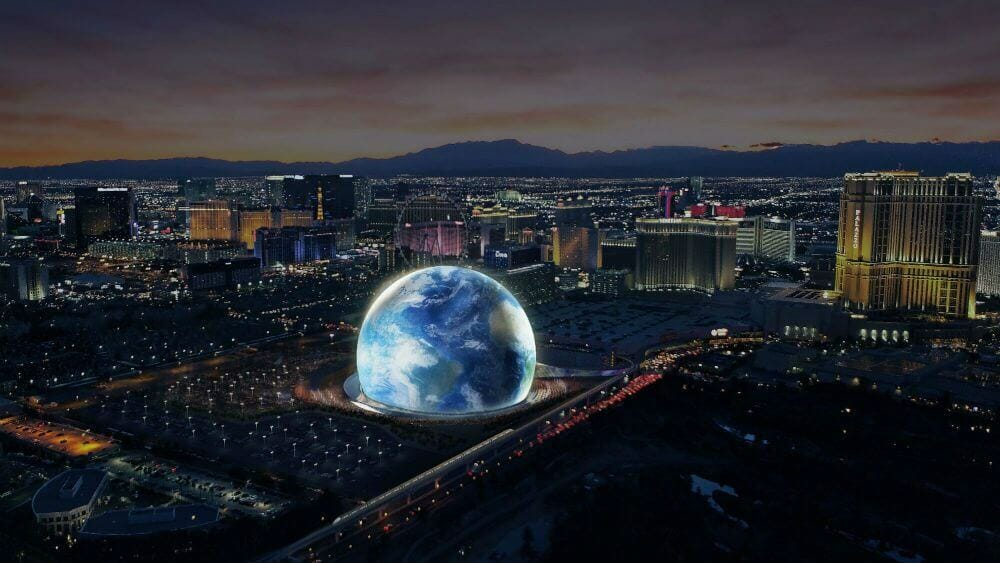 MSG signs lease to build futuristic 'Sphere' venueMsg Sphere Las Vegas