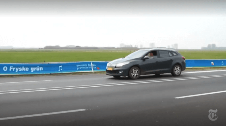 Netherlands officials permanently quiet bothersome new 'singing road'Screen Shot 2018 04 15 At 11.54.05 AM