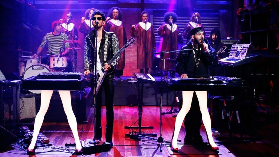 Chromeo deliver visual for quarantine anthem, 'Clorox Wipe'Chromeo Fallon Tonight Show E1604599960366
