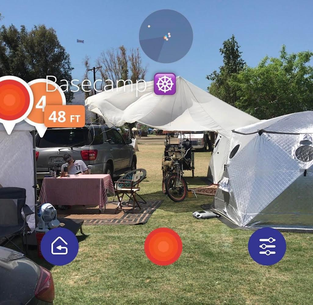 This new AR app is here to save you from ever getting lost at a festival again, just in time for EDC Las VegasUnnamed