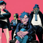 Gorillaz halt Roskilde Festival set after Del the Funky Homosapien falls off stageGorillaz 1