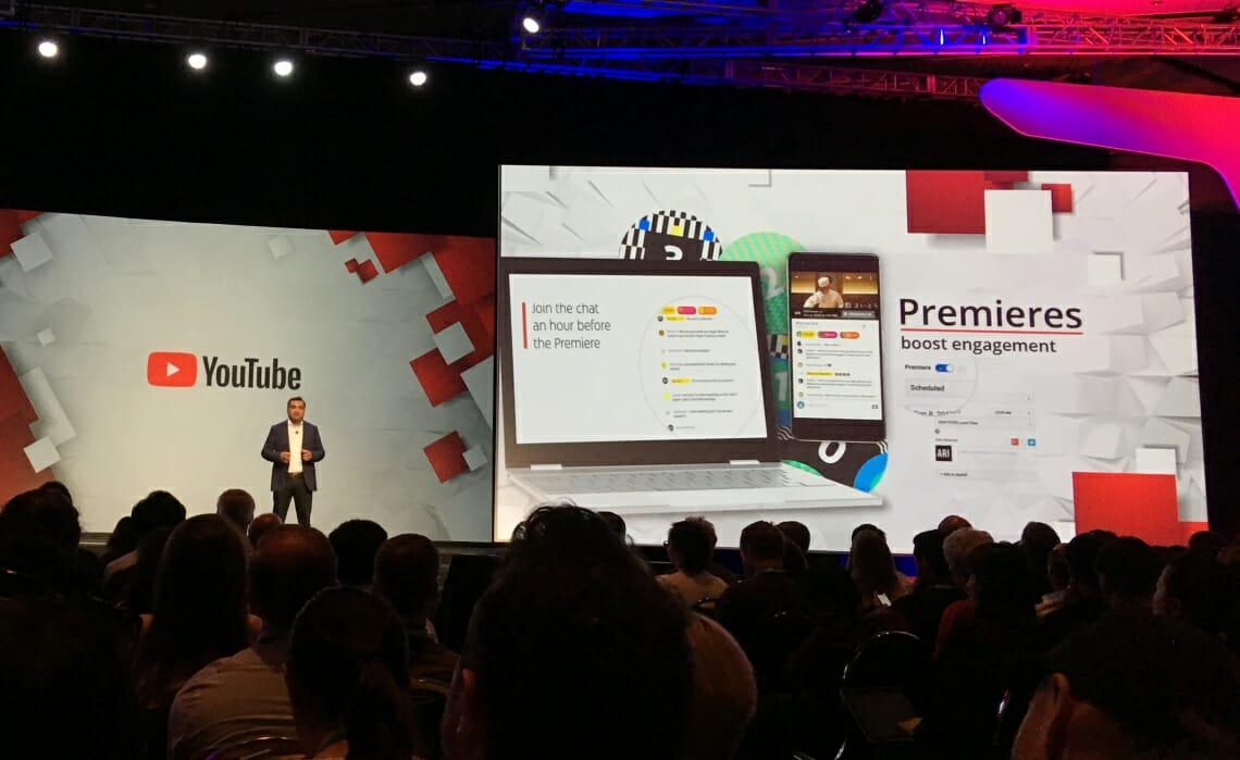 YouTube will soon allow creators to play pre-recorded videos during live streamsPremieres Youtube