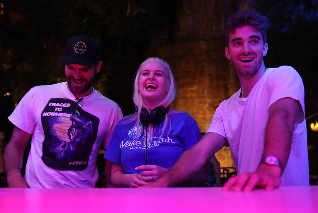 The Chainsmokers partner with Wynn Nightlife and Make-A-Wish to help teen's dream come trueChainsmokers Danny Mahoney