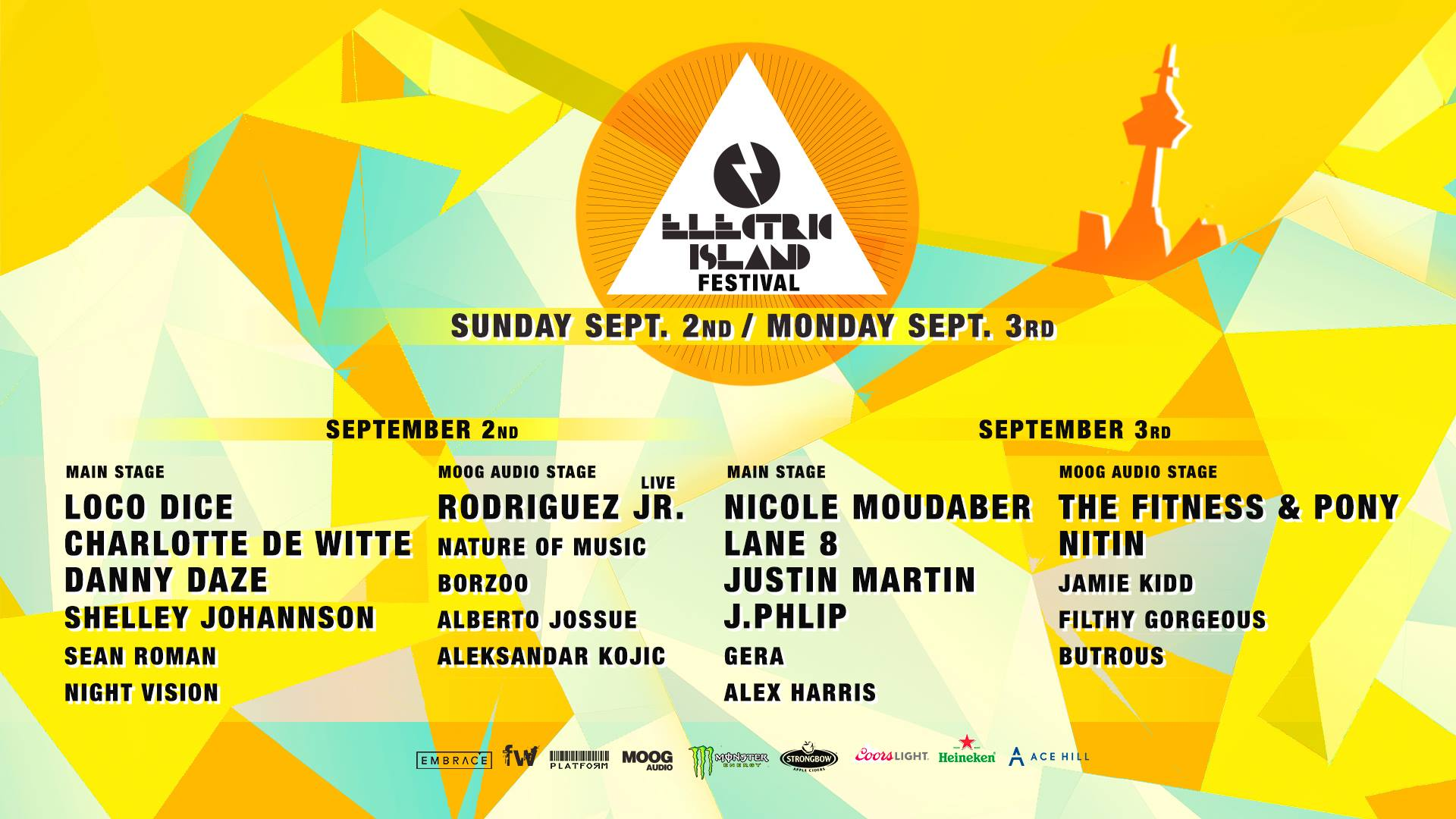 5 must-see sets at Toronto's Electric Island season finaleEI Sept 2 3 1