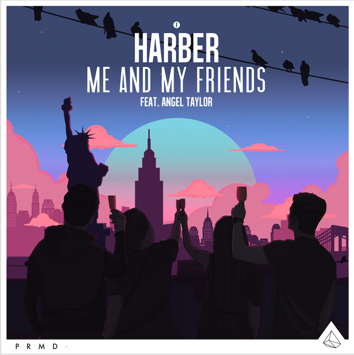 HARBER teams up with dance music veteran vocalist Angel Taylor on 'Me And My Friends'HARBER Feat Angel Taylor Me And My Friends Cover Art