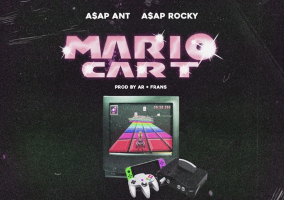 A$AP Rocky link up A$AP Ant on twisted freestyle, 'Mario Kart'Screen Shot 2018 08 20 At 2.19.57 PM