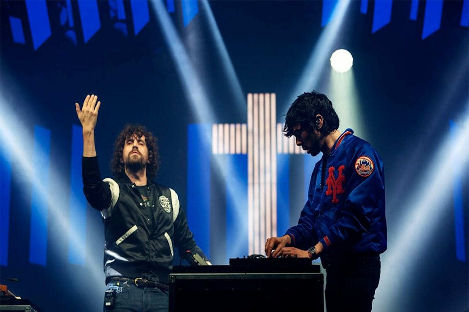 Justice cement their legacy as one of the greatest dance acts of all time with Grammy Award for Best Electronic AlbumJustice O2 Briton Academy Credit Guifre De Peray