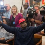Kanye West makes unorthodox White House visitKanyeTrumpWhiteHouse.0 1
