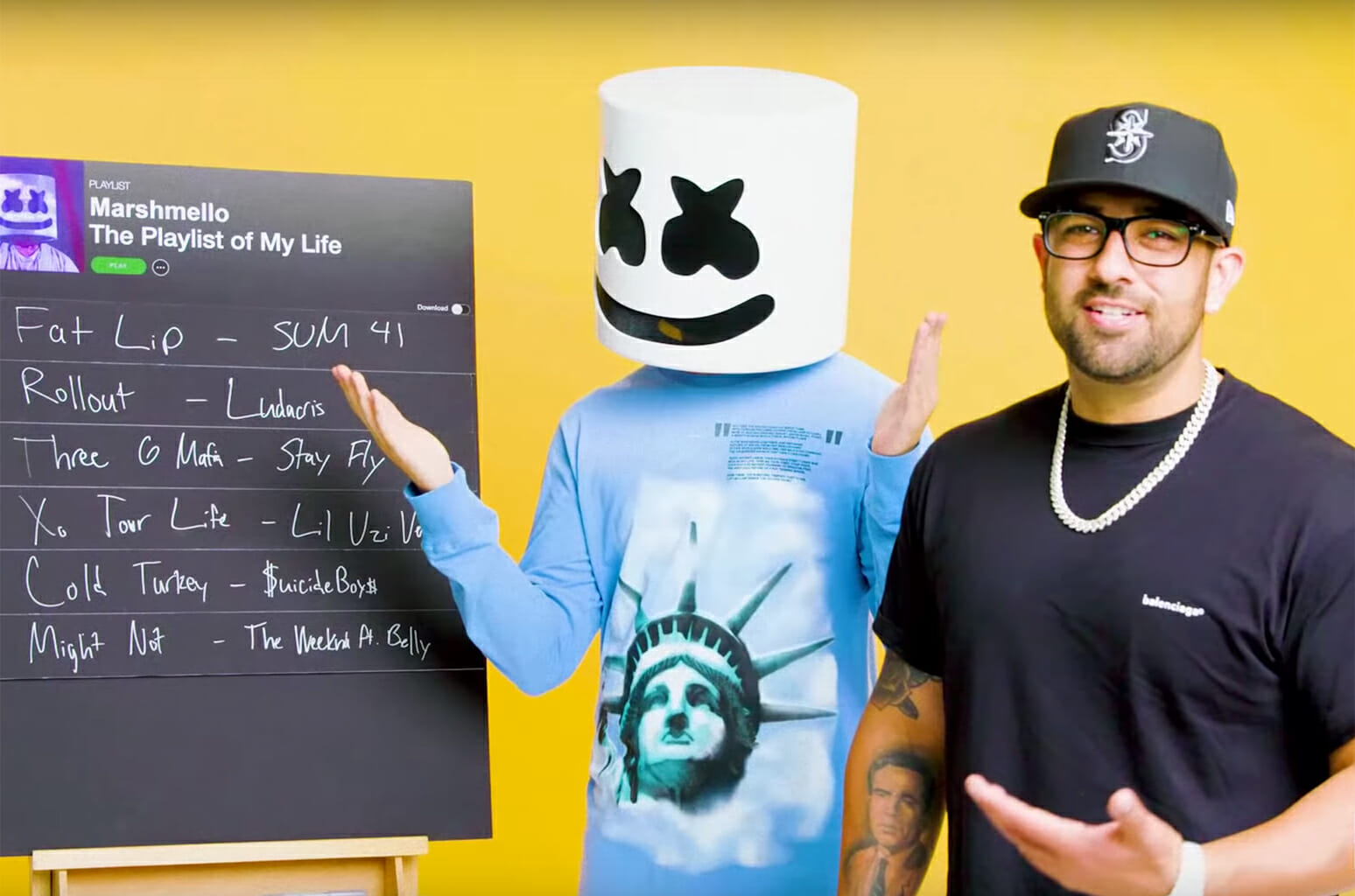 Moe Shalizi to begin own management firm following departure from Red LightMarshmello Teen Vogue Playlist 2018 Billboard 1548