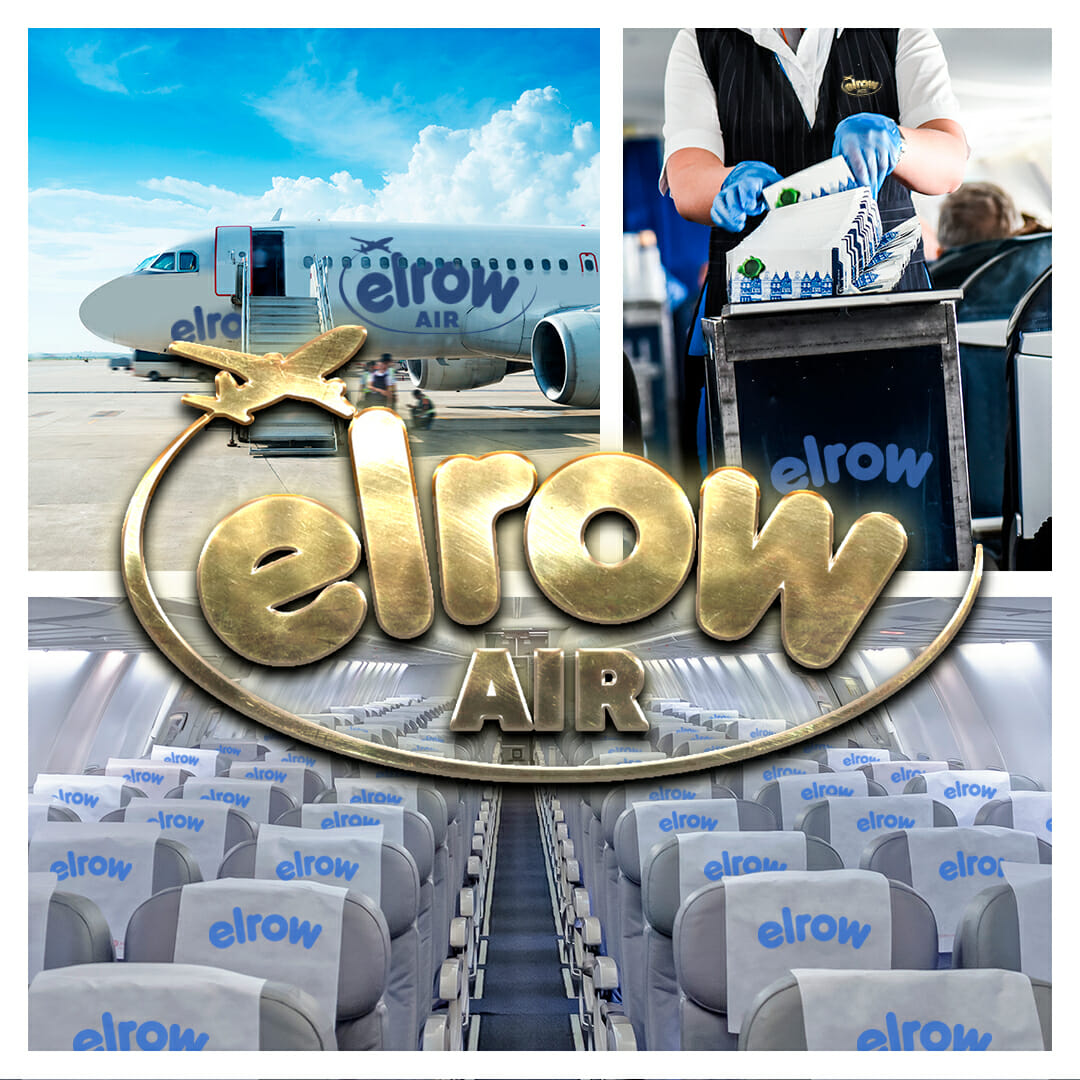 Fly high elrow style with the announcement of new exclusive party airline, elrowAirELROW AIR