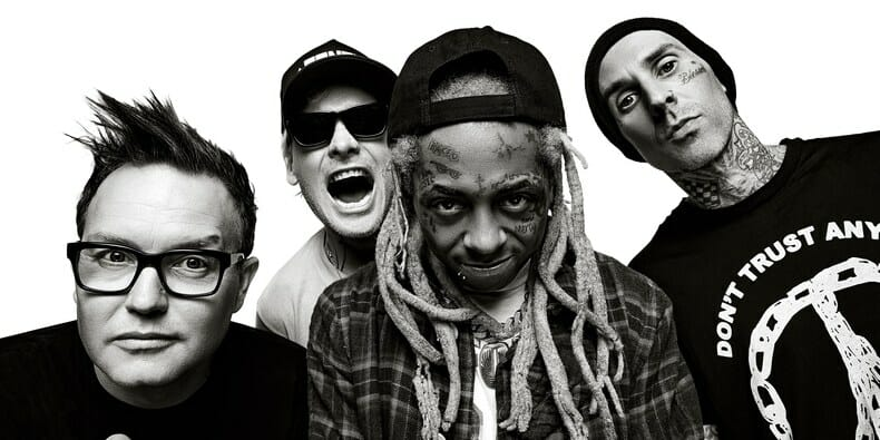 Lil Wayne and Blink-182 share mashup, announce joint tour datesLil Wayne Blink 182 Photo Credit Randall Slavin