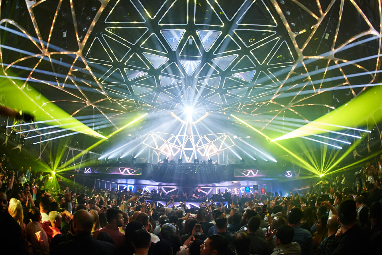 Industry insiders: Las Vegas nightclubs must adapt to survive COVID-19 economic falloutThe Hakkasan Grid The Largest Kinetic Light Installation In The United States Is Unveiled At Hakkasan Nightclub In Las Vegas On May 16 Photo Credit Power Imagery LLC