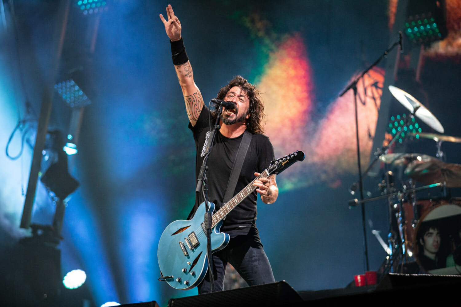 Foo Fighters will celebrate Record Store Day with a disco album as the Dee GeesFoo Fighters Reading 2019 Emma Swann 0F8A5986