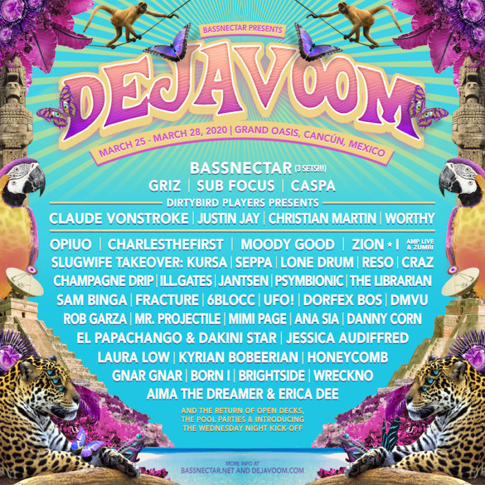 Bassnectar's next Deja Voom bass pilgrimage to be led by Sub Focus, GRiZ, and CaspaBassnectar Dejavoom